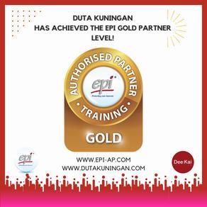 DUTA KUNINGAN HAS ACHIEVED THE EPI GOLD PARTNER LEVEL!