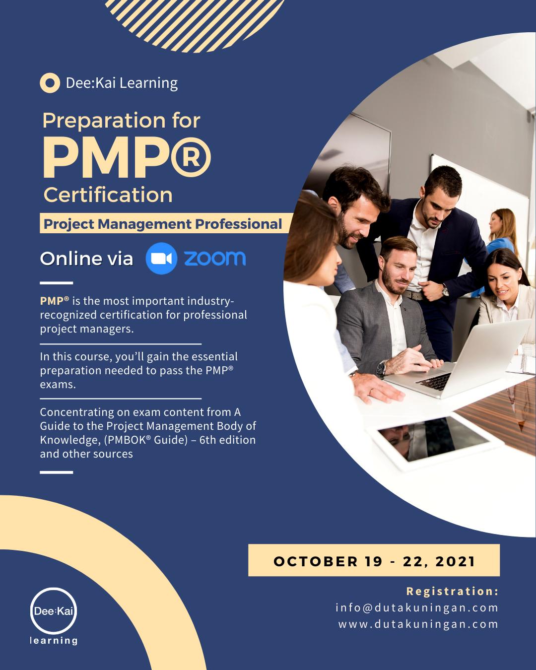 Preparation for PMP Certification