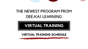 Virtual Training Schedule