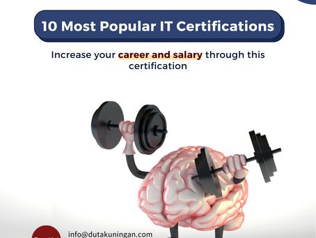 10 Most Popular IT Certification