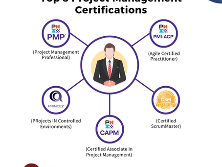 Top 5 Project Management Certifications