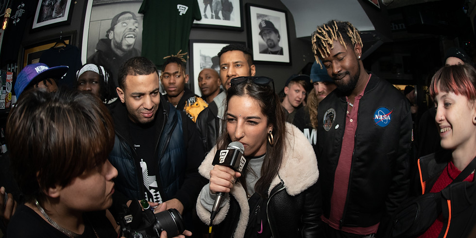 RISE OF THE MC X L.A.B COLLECTIVE - BRIXTON