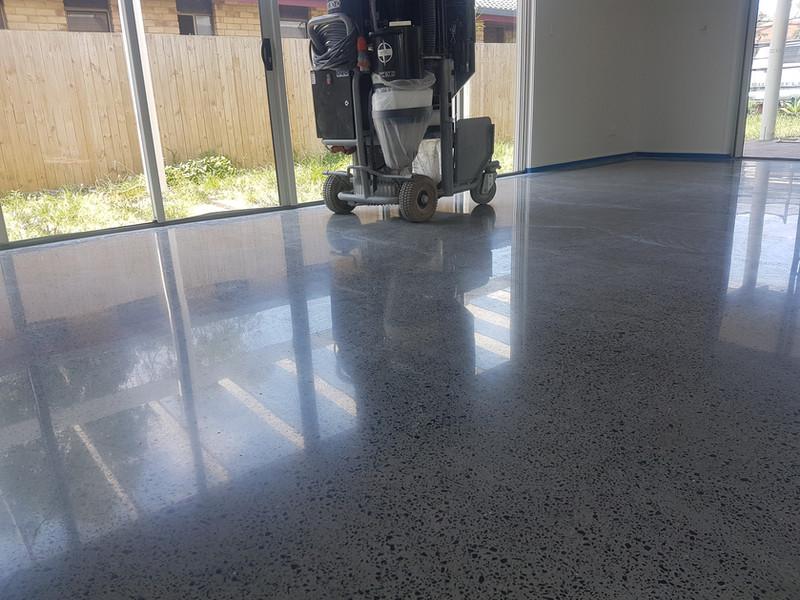 Superfloor Australia Polished concrete 1