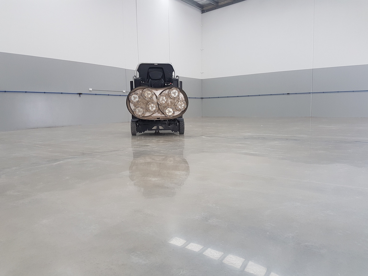 Superfloor Australia 1500ixt polished concrete floor brisbane