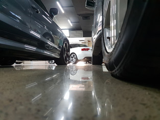 polished concrete industrial
