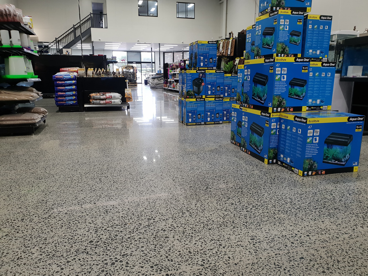 polished concrete commercial 7