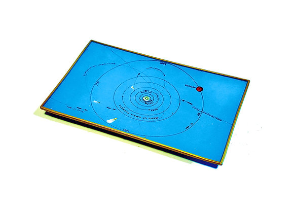 Planet Orbit Glass Tray