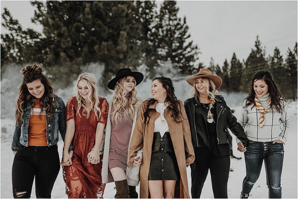 Missoula Montana winter fall styled shoot, Missoula photographer, Montana photographer, mustard, rust, Katy Shay Photo