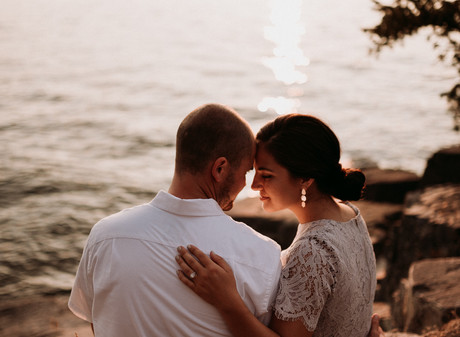 Neil + Katie | Flathead Lake, Montana Engagement