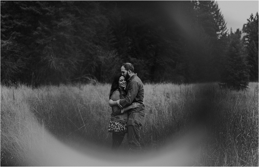 Engagement photos in the woods, fall engagement, mountain photo shoot, sunset photos, Bohemian engagements, What to wear for engagement shoot, moody, Montana photographer, Missoula Engagement, bohemian, black and white, ring of fire