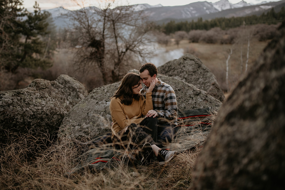 boho, dirt road, love, intimate engagements, missoula photographer, montana photographer, little smith creek ranch, katy shay photo, rustic, montana engagement, bozeman photographer