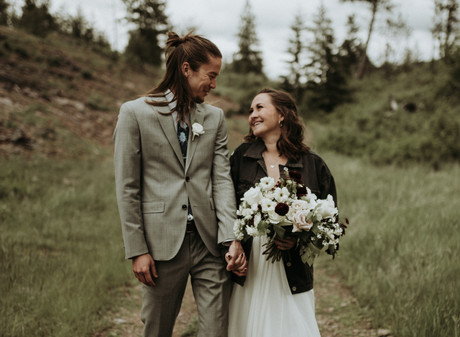 White Raven Elopement   Cole + Jess - Alberton, Montana