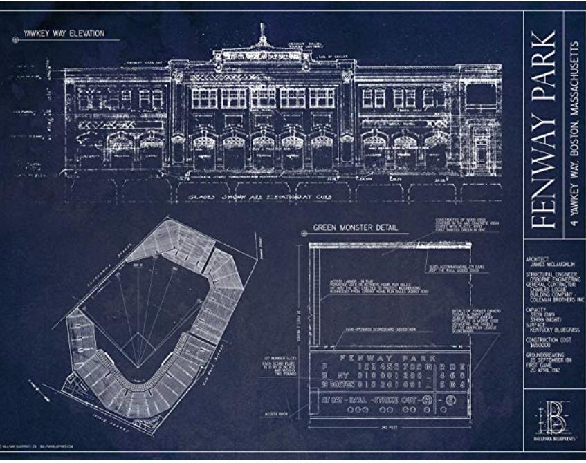 Favorite Stadium Sketch
