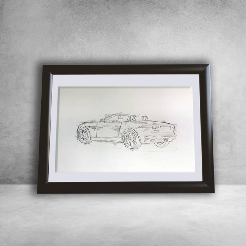 Custom Car Sketch