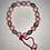 Thumbnail: Pink & Grey Beaded Bracelet