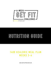 Metrics Finess Lab Nutrition Plan