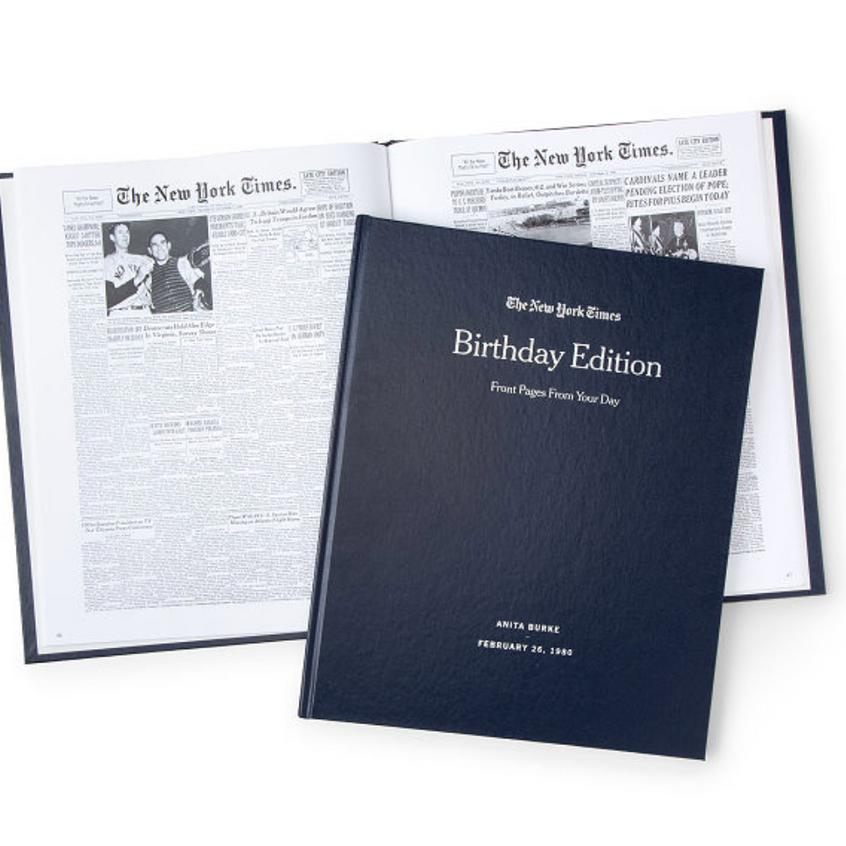 New York Times Birthday Book
