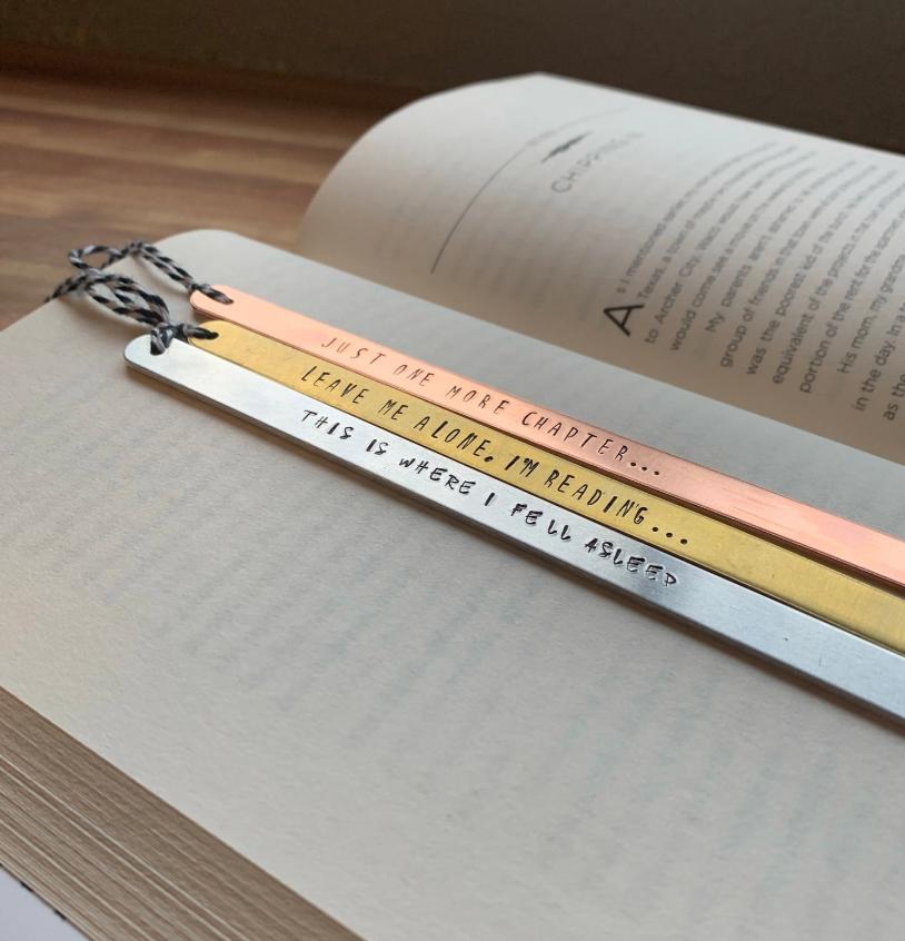 Metal Bookmark