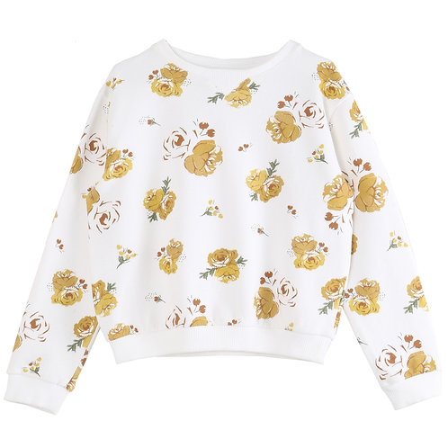 Sweat shirt bouquet fille Emile et Ida