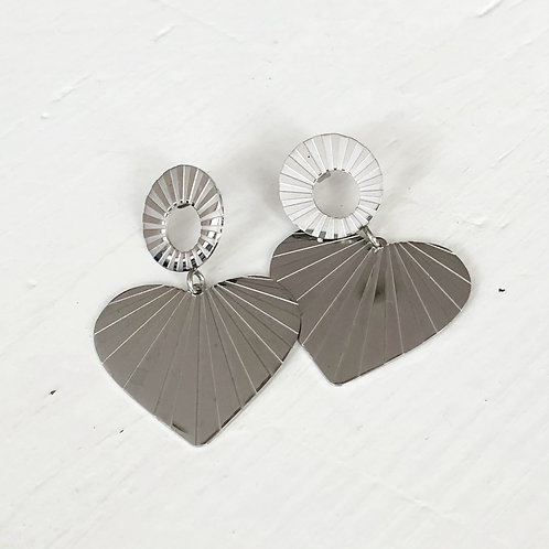 Boucles d'oreilles Heart