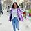 Thumbnail: Doudoune Street violet Wiya