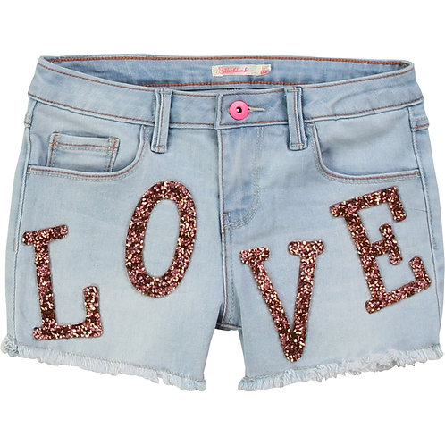 Short denim Love Billieblush