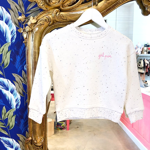 Sweat-shirt Girl Power Maison Labiche