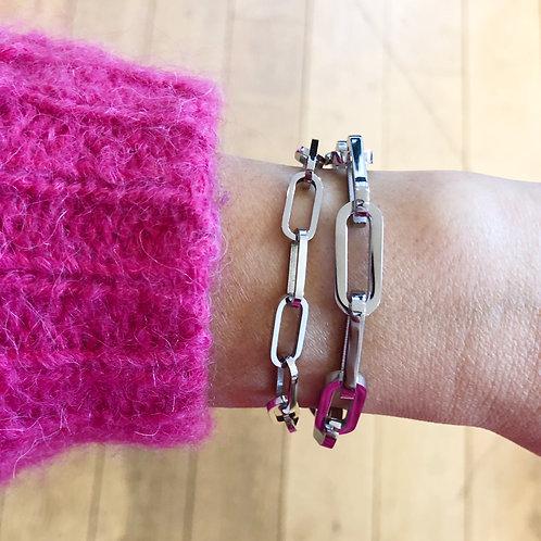 Bracelet Carrie argenté