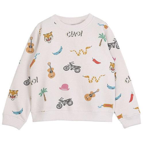 Sweat-shirt Ciao Emile et Ida