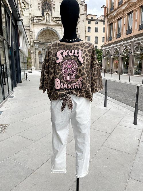 Pantalon Bergamo blanc Banditas