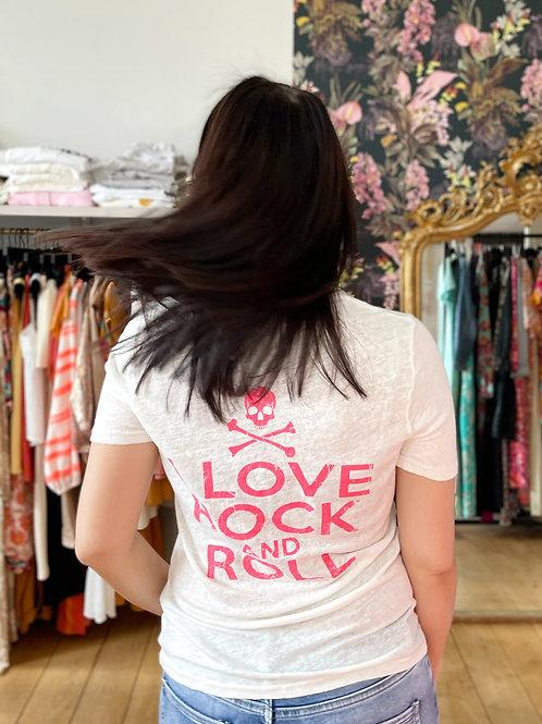 T-shirt Rock Lin rose Banditas