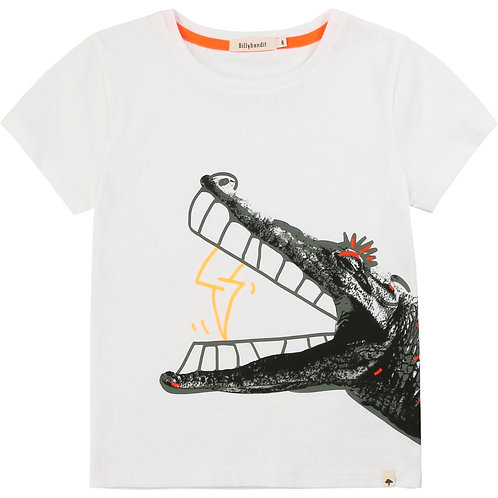 T-shirt crocodile éclair Billybandit