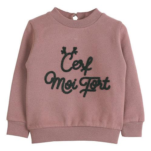 Sweat-shirt Cerf moi Fort Emile&Ida