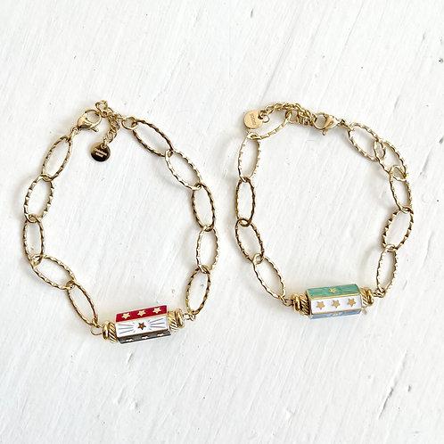 Bracelet Trois Etoiles