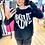 Thumbnail: T-shirt More Love noir Banditas