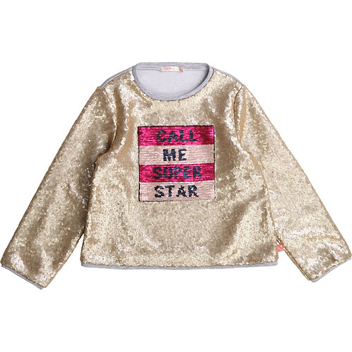Sweat-shirt super star Billieblush