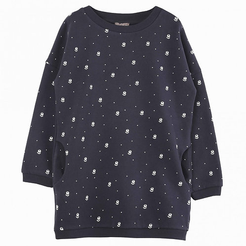 Robe sweat myrtille Emile et Ida