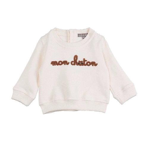 Sweat-shirt bébé Mon Chaton Emile et Ida