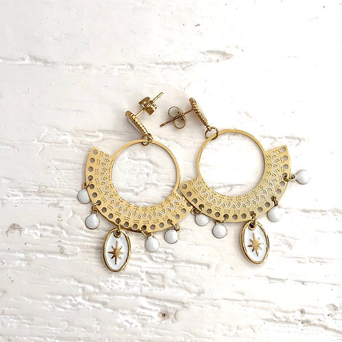 Boucles d'oreilles Inaya
