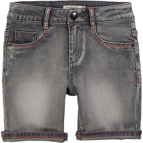 Short denim gris Billybandit