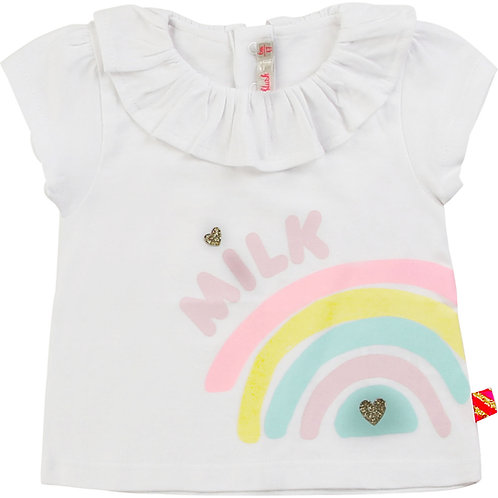 T-shirt bébé Milk Billieblush