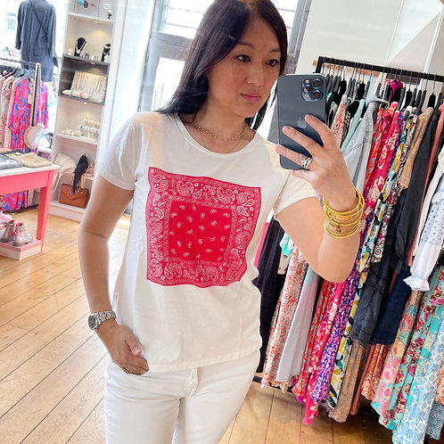 T-shirt Bandana rouge Banditas