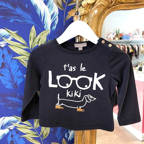 "T-shirt bébé ""T'as le Look Kiki"" Emile&Ida"