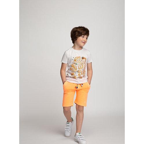Short molleton orange Billybandit