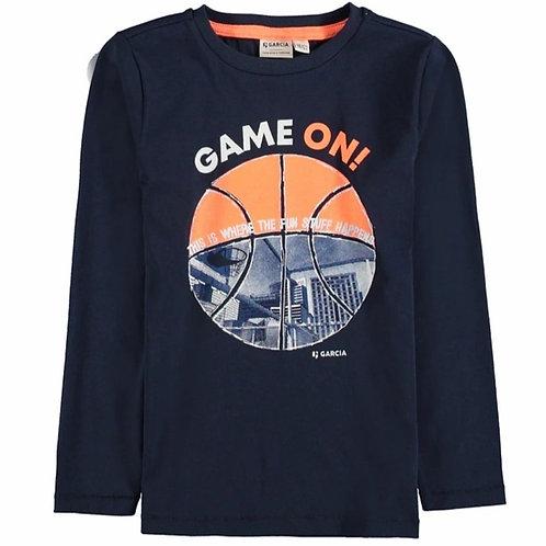 T-shirt Game On Garcia