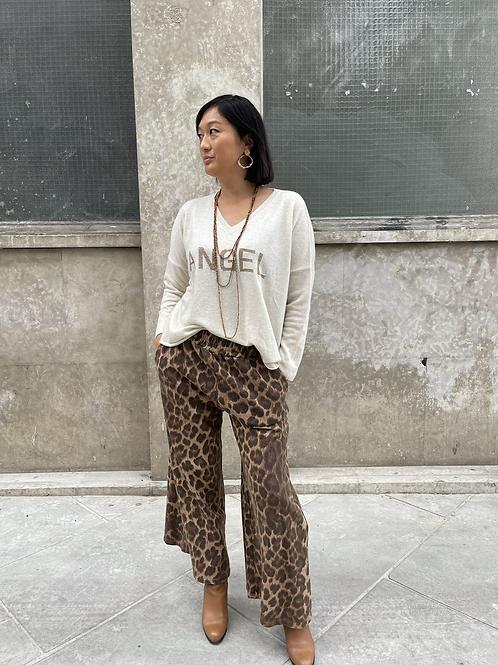 pantalon léopard saigon banditas