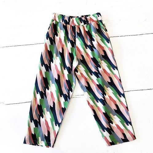 Pantalon multicolore Blune Paris