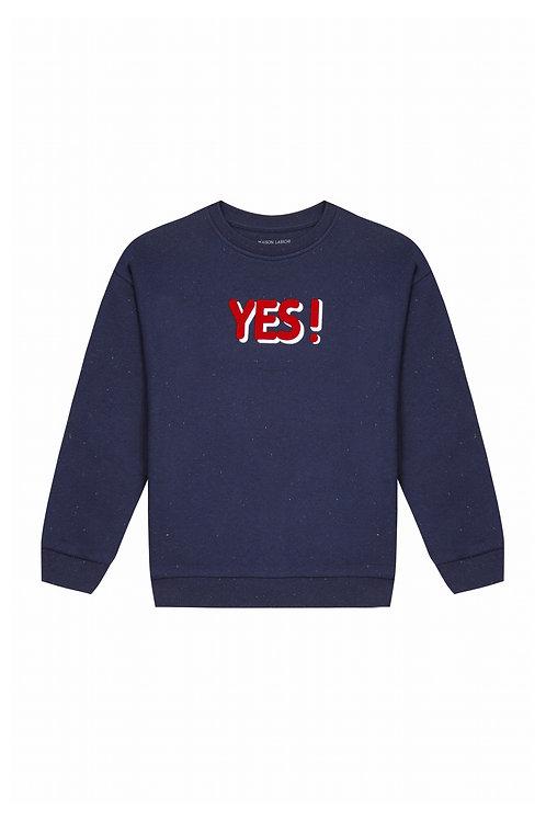 sweat shirt Yes Maison Labiche
