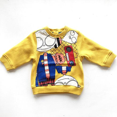 Sweat-shirt bébé Little Marc Jacobs