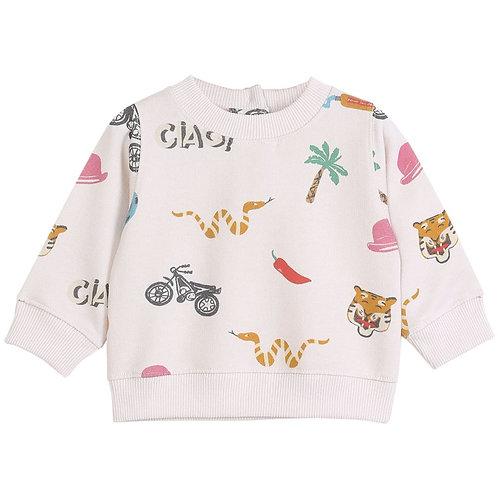 Sweat-shirt bébé Ciao Emile et Ida